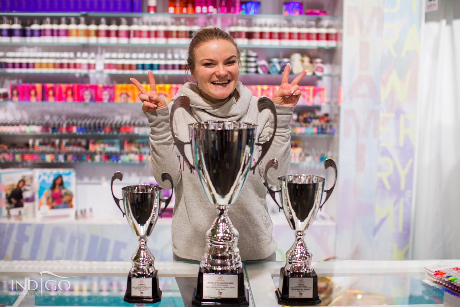 Lena Kurach i jej trofea
