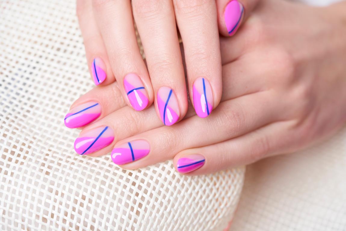 Maria Antonina Santorini Indigo Nails