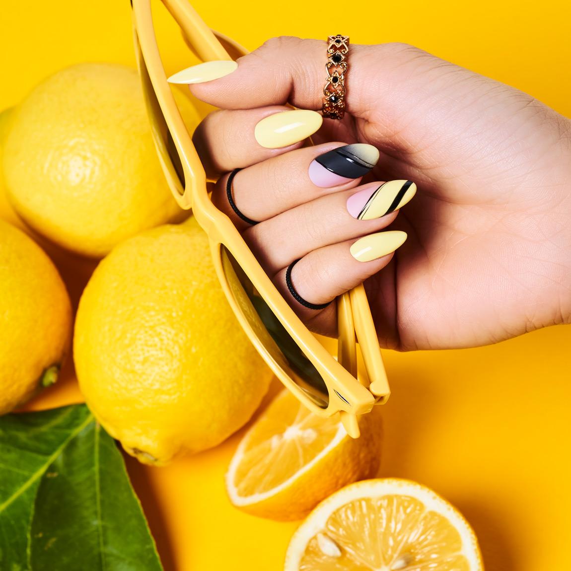 Citrolina Santorini Indigo Nails