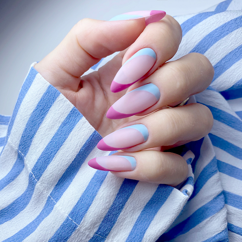 Full Swimming Pool Gel Polish, Arriva La Diva Gel Polish, Gelastic Glass Pink