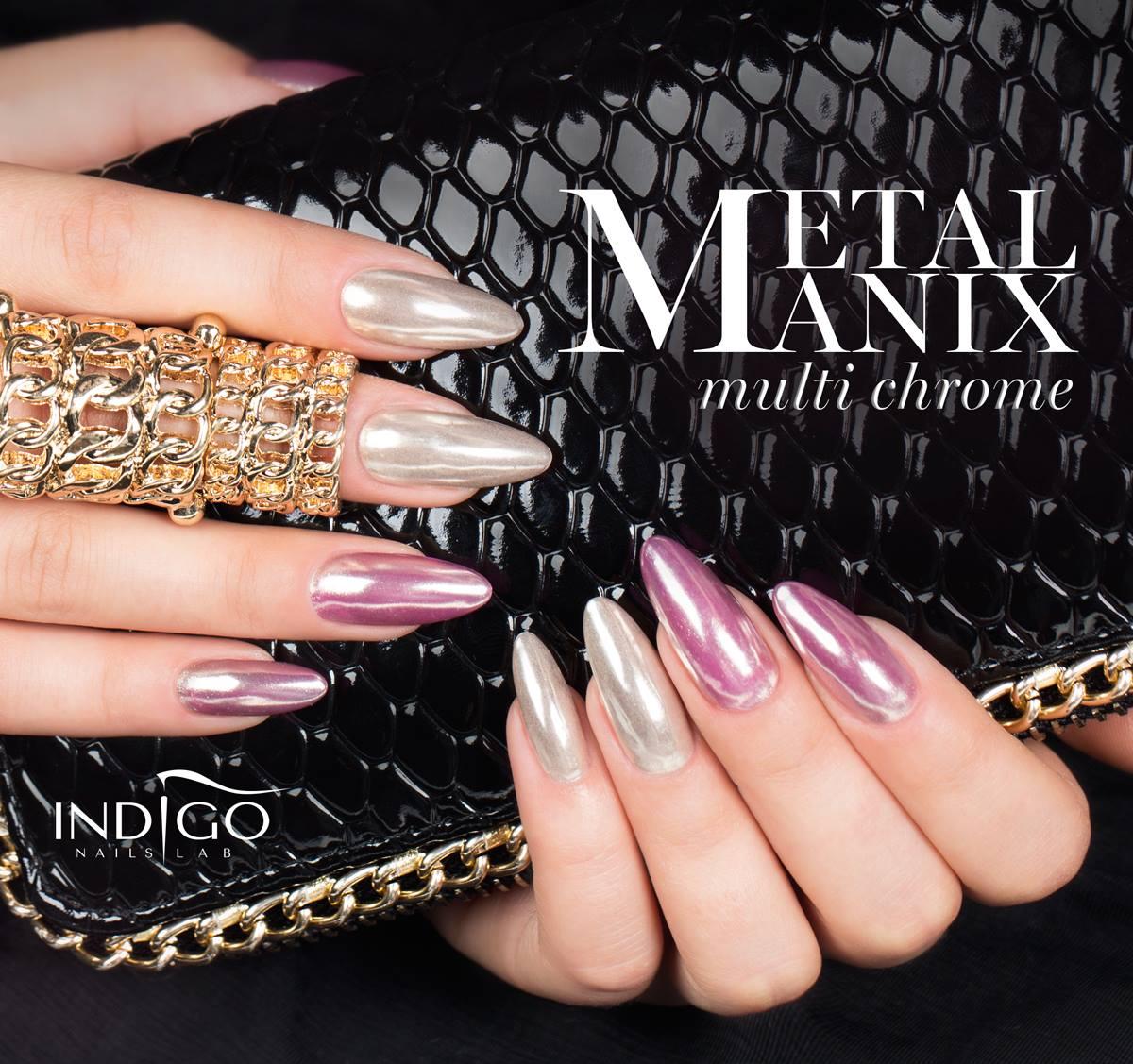 MetalManix, metal, manix, efekt chromu, chromowane paznokcie, złote, rose gold, jasne złoto, złote paznokcie, Mercedes, lustrzane, lustro, złoty chrom, paznokcie, lustro na paznokciach