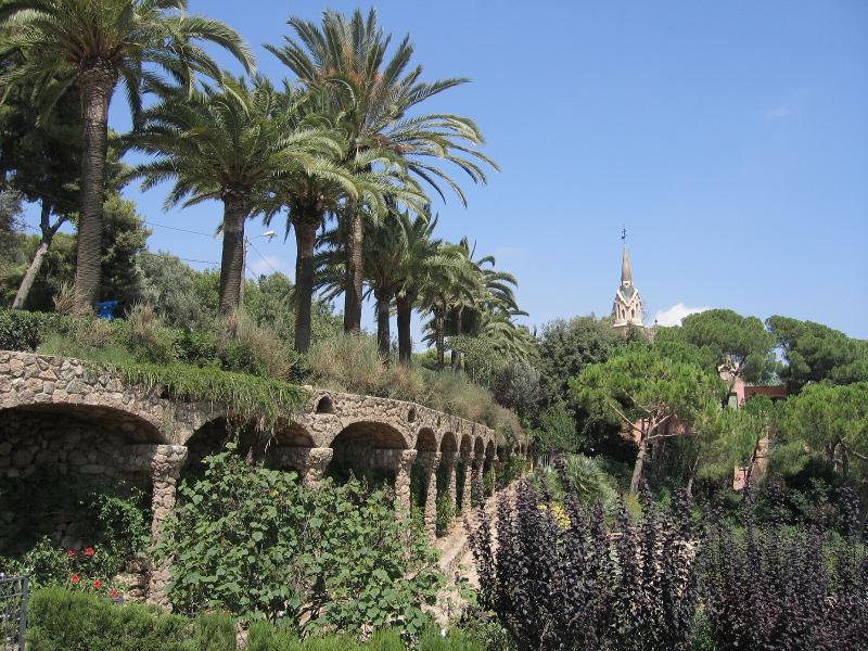 Park Guell, Barcelona, Hiszpania, bilety do Barcelony