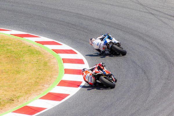 MotoGP w Barcelonie zawsze przyciąga tłumy, czerwiec 2018 w Barcelonie