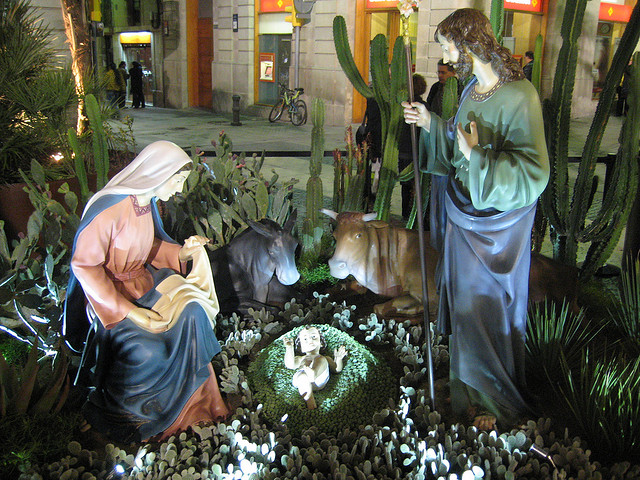 Bożonarodzeniowe szopki, Boże Narodzenie Barcelona