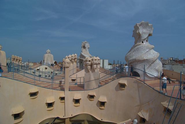 Na dachu la Pedrary, najlepsze punkty widokowe w Barcelonie