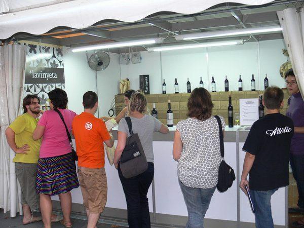 Wrzesień w Barcelonie zaprasza na degustację wina, wrzesień 2018 w Barcelonie