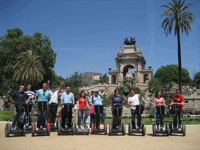 Barcelona i segway - pomysł na dobrą zabawę, czym zwiedzać barcelonę