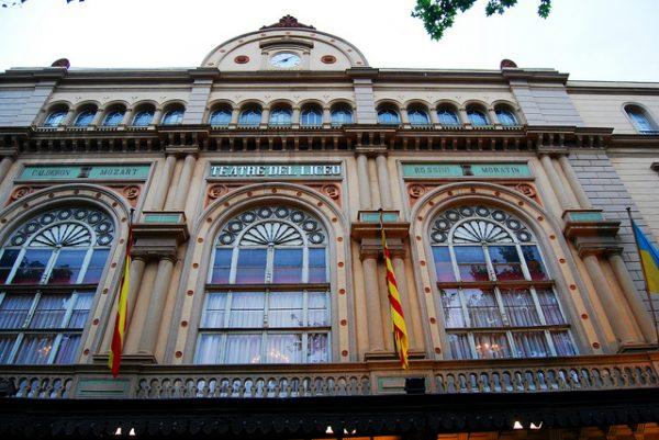 Wizyta w Gran Teatre del Liceu z pewnością okaże się niezapomnianą przygodą , wrzesień 2018 w Barcelonie