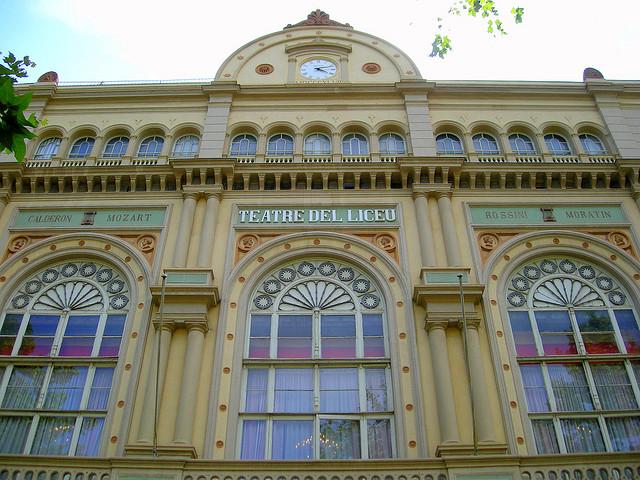 Gmach Gran Teatre del Liceu, La Rambla Barcelona