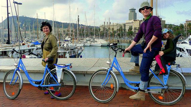 Barcelońska przejażdżka rowerem, czym zwiedzać Barcelonę