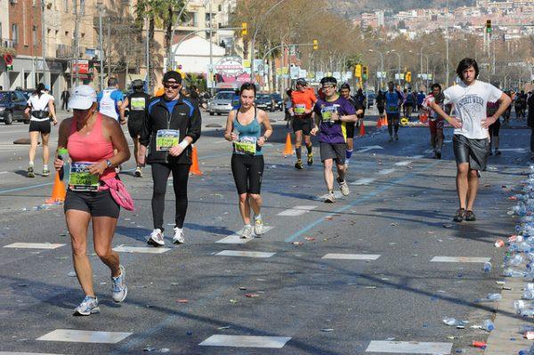 W Barcelonie nie brak imprez dla biegaczy, kwiecień 2018 w Barcelonie