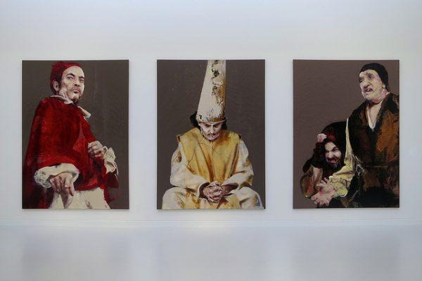 Lita Cabellut - jej prace też uda nam się obejrzeć na tej wystawie, marzec 2018 w Barcelonie