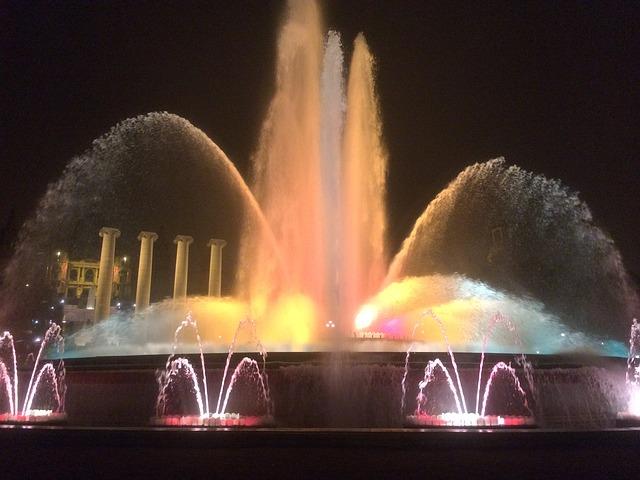 Magiczna fontanna